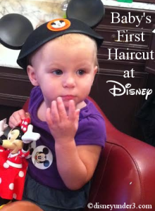 Baby's First Haircut at Disney