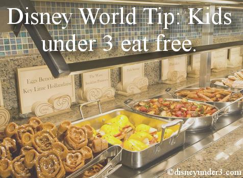 Kids Eat Free at Disney