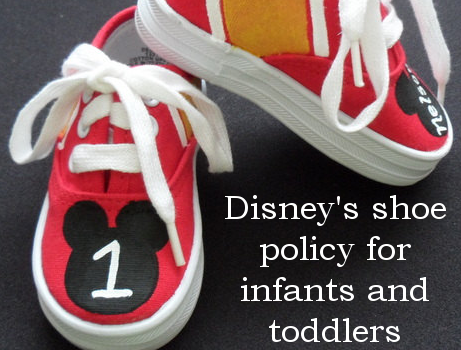 Disney's Shoe Policy