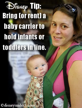 Baby Carriers at Disney World