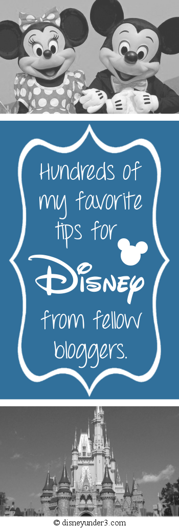 Disney Tips from Fellow Bloggers