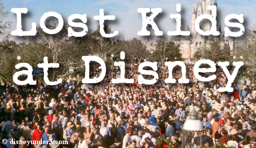 Lost Kids at Disney