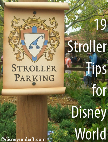 Stroller Tips for Disney