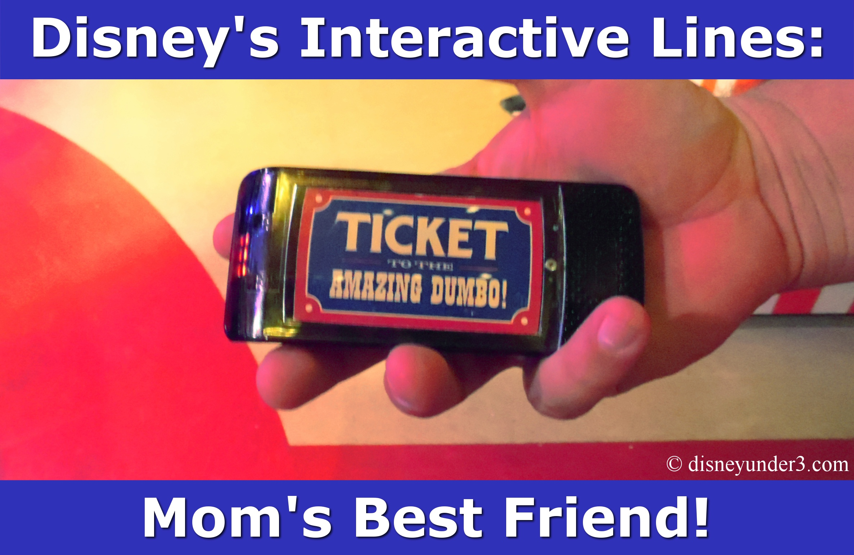 Disney Interactive Lines