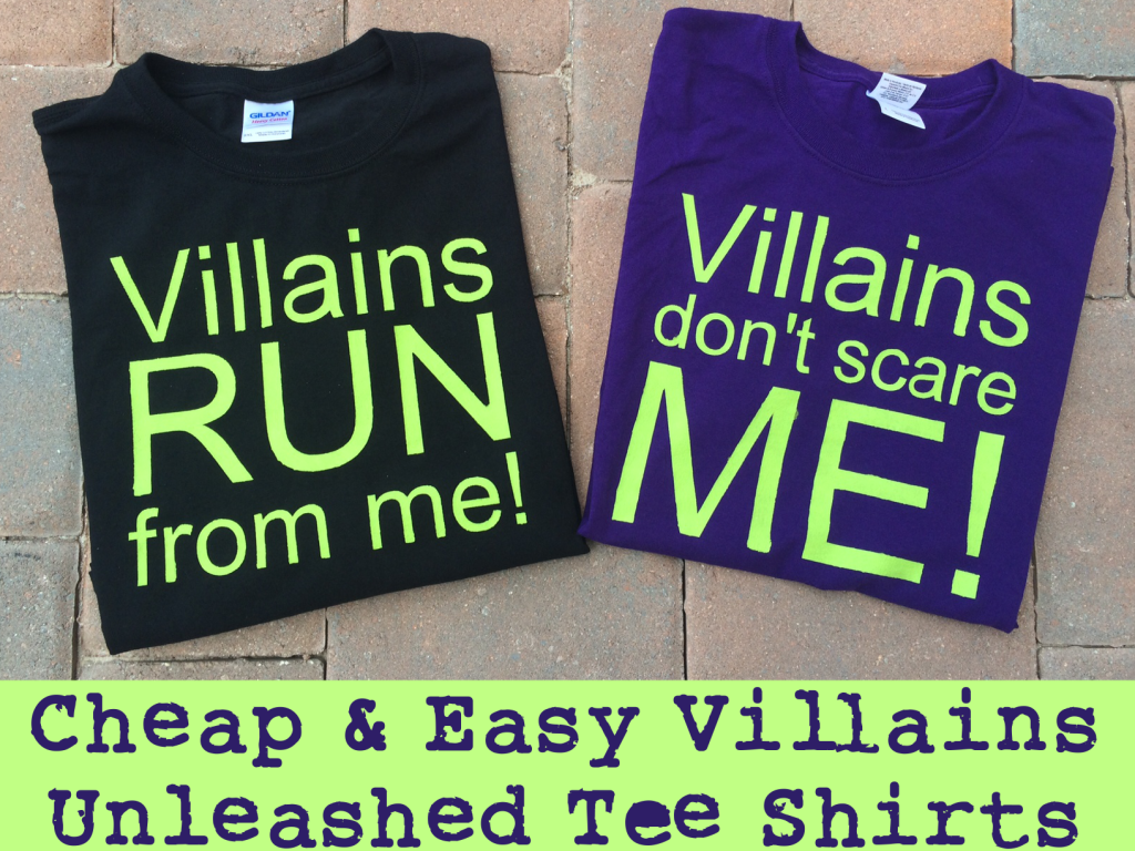 Disney Villains Tee Shirts