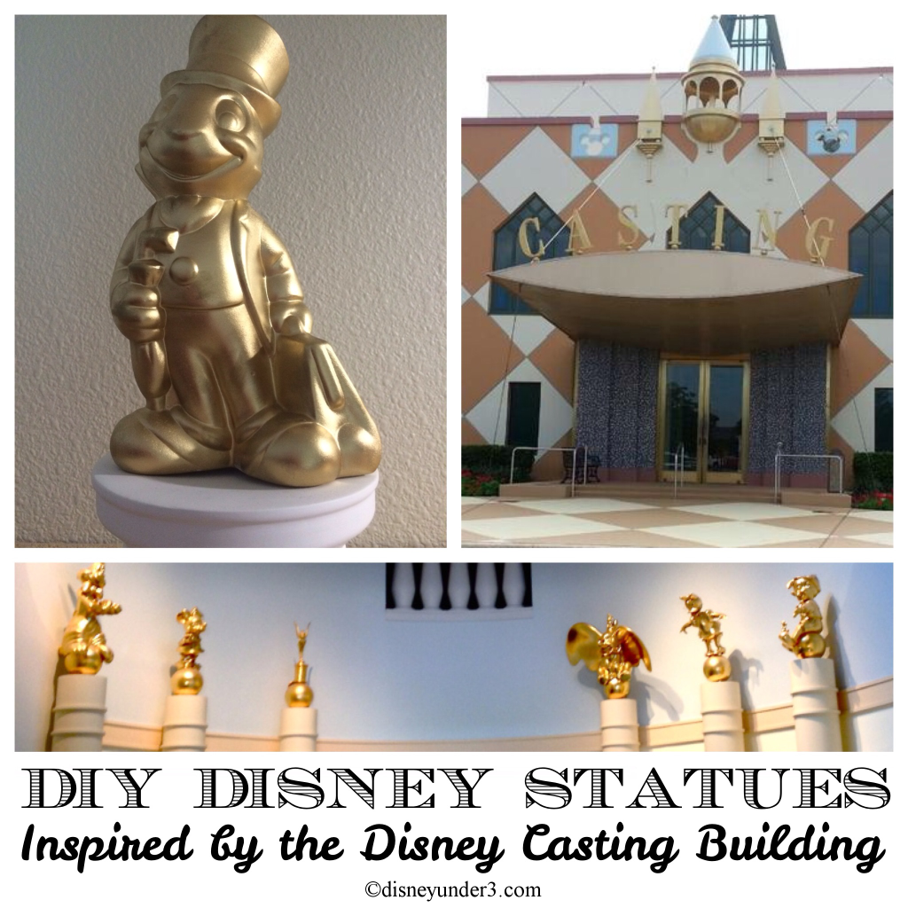 DIY Disney Statues