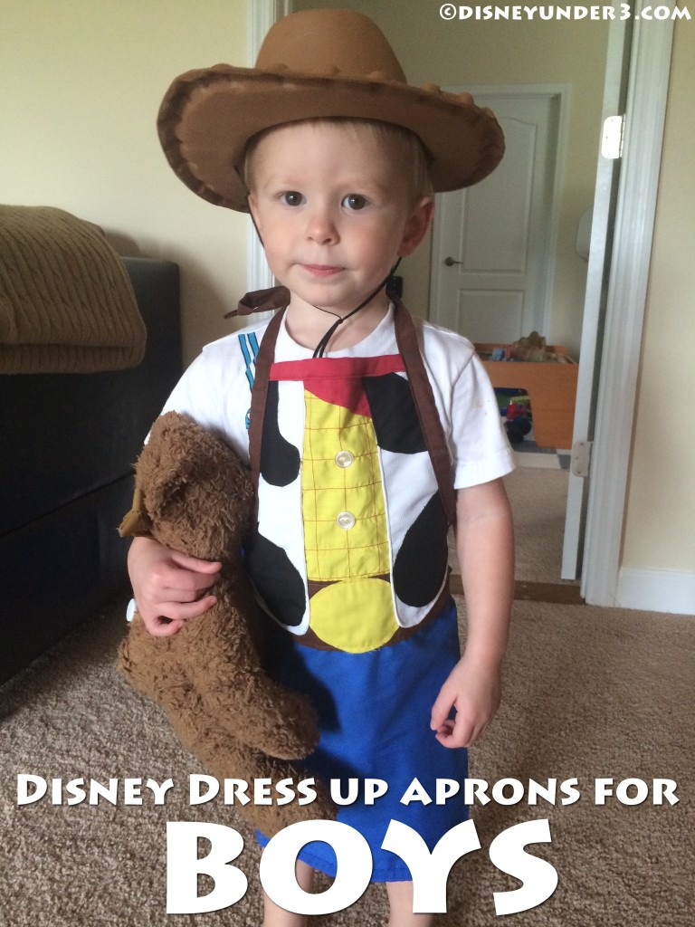 Disney Dress Up Aprons for Boys